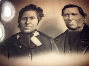 Great Great Grandma Elizabeth (Morris) and Morgan Lewis Howells